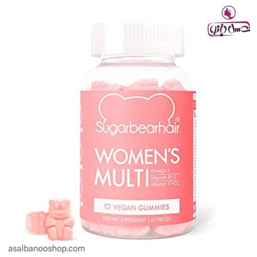 پاستيل مولتی ویتامین زنانه شوگر بير