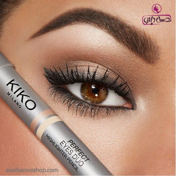 مداد هایلایتر دو سر Perfect Eyes Duo کیکو1