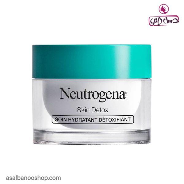 آبرسان و آنتی اکسیدان Skin Detox نوتروژینا